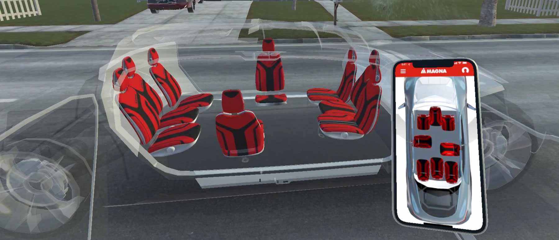 News Release Magna Reveals New Seating Ecosystem Designed